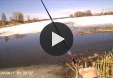 Моя весенняя рыбалка